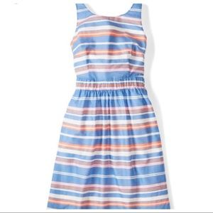 Boden Hattie Stripe fit and flare dress